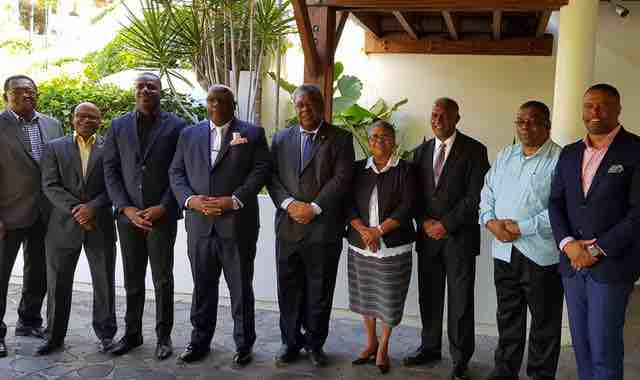 Federal Cabinet Meeting On Nevis Indicative Of Good Relations U2013 My Vue News