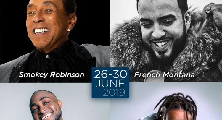 St. Kitts Music Festival artistes for 2019
